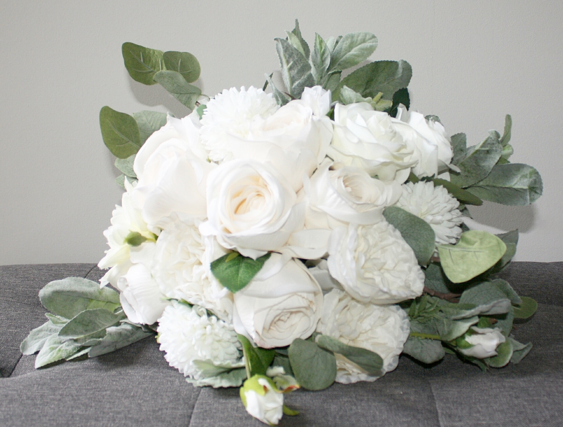 Gorgeous Green & White Bouquet