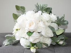 Gorgeous Green & White Bouquet
