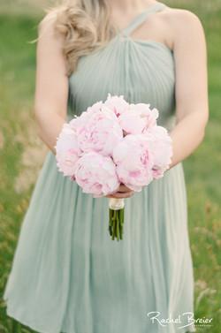 Dusty Pink Peony Bouquet