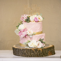 Nat & Jonathan's Wedding Cake
