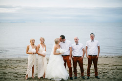 Beautiful Alana and bridal party