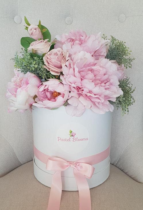 Pastel Peony & Roses Gift Box