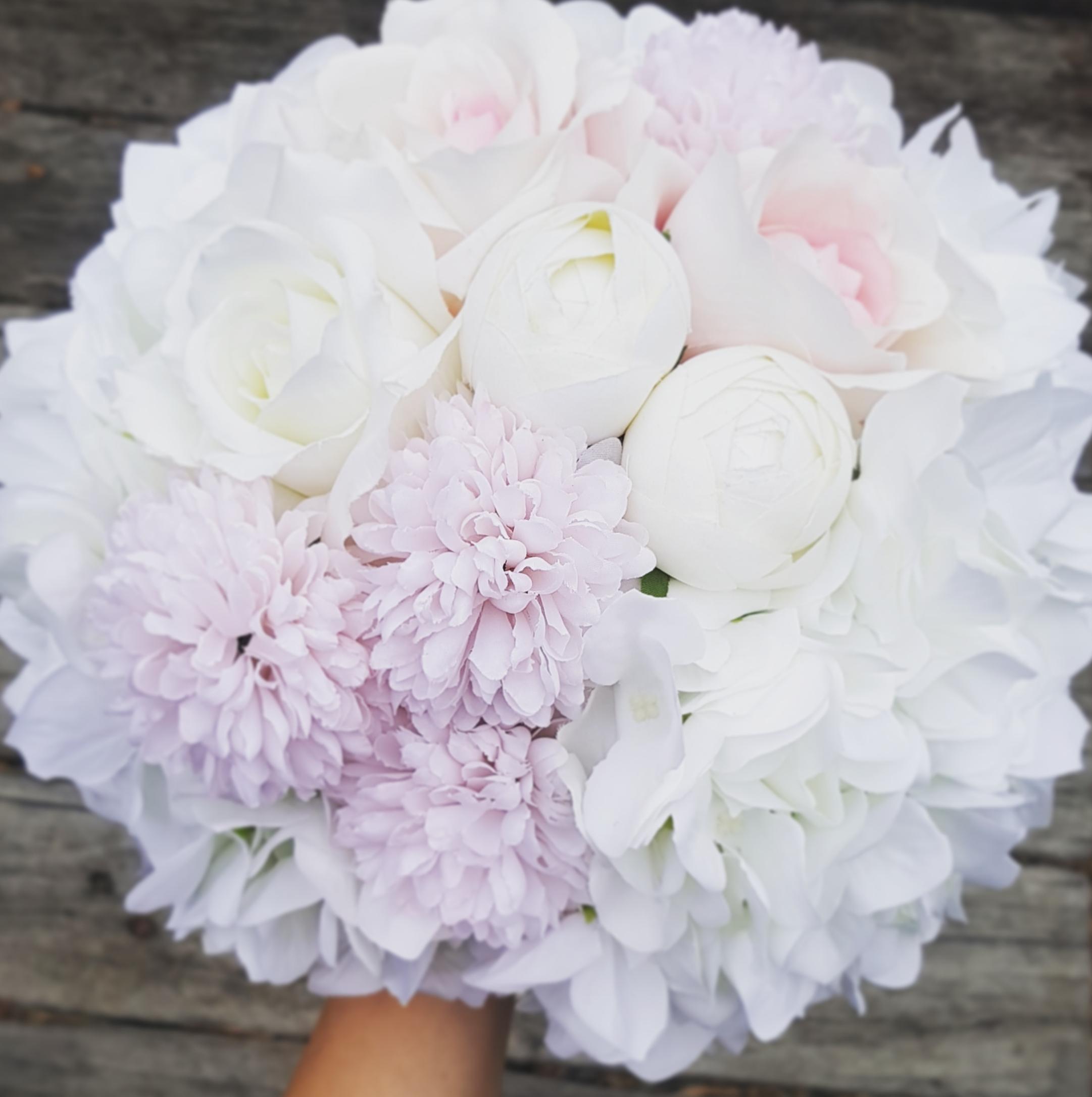 Hydrangeas & Chrysanthemums