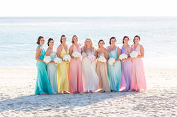 Georgeous Courtney and Bridesmaids