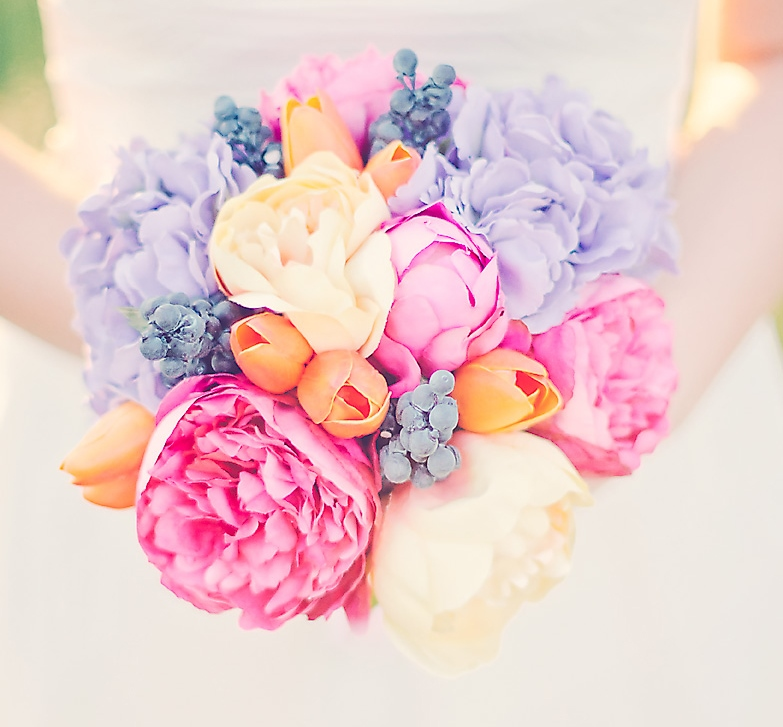 Juicy Fruit Peony Bouquet