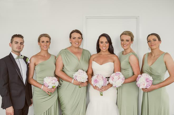 Katie & Bridal Party