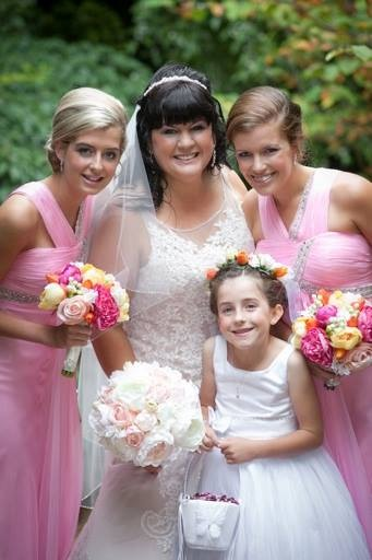 Laura's Beautiful Bridal Party