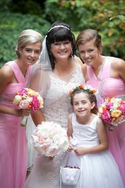 Laura's Beautiful Bridal Party