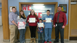 Students of the Month December