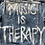 "Thumbnail: ""Music Is Therapy"" Denim Jacket - XL"
