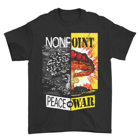 Nonpoint Peace Vs War Shirt Design