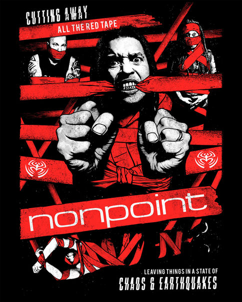 Nonpoint / Tour Shirt & Poster Design