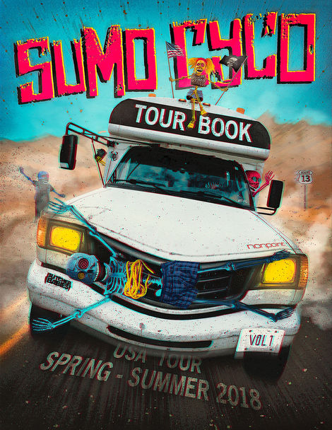 SUMO CYCO - Tour Book - Artwork