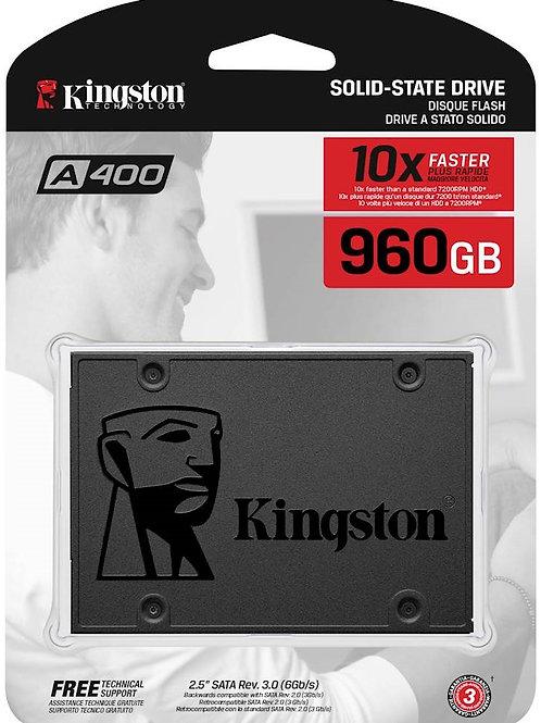 "Kingston A400 (SA400S37/960G) 960GB SATA3 2.5"" SSD Solid State Drive"