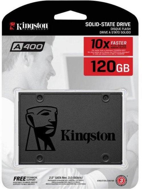 "Kingston A400 (SA400S37/120G) 120GB SATA3 2.5"" SSD Solid State Drive"