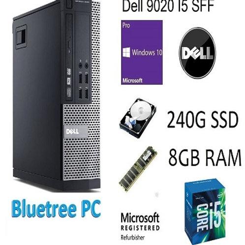 Dell 9020 SFF Core I5-4690 8GB Ram 240GB SSD Win10 Pro Desktop Computer