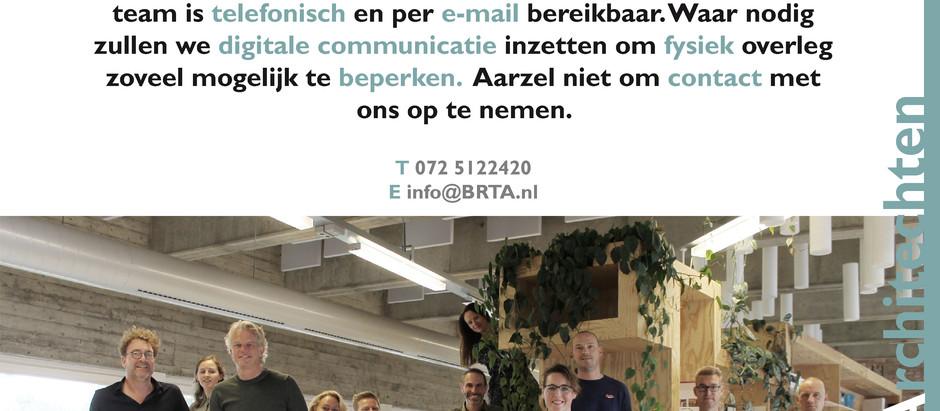 BRTArchitecten werken door