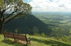 Mirador en el Cerro Akati