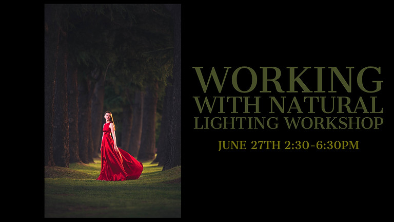Working with Natural Lighting Workshop