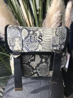sac us cuir python ref su03 199 euros