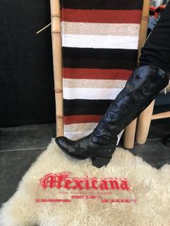 mexicana bottes cuir ref:mx02 500 euros