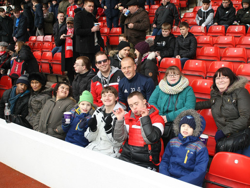 Crocus Fields Family Day out at Nottingham Forest