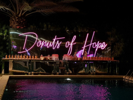 Donuts of Hope (King Hussein Caner Center Gala)