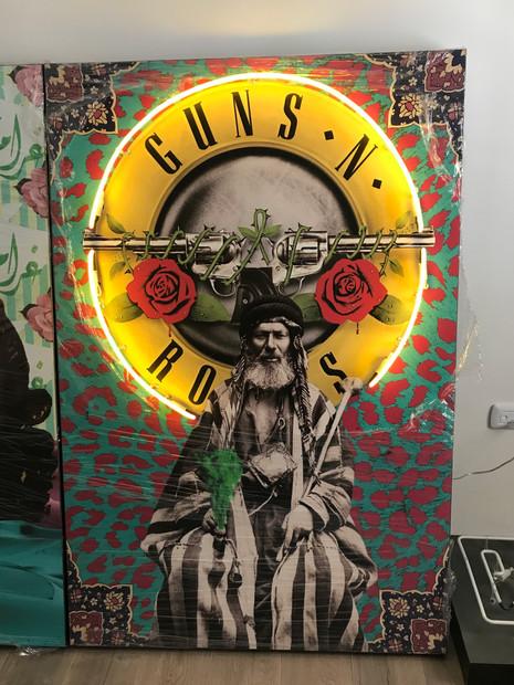 Guns n  roses (LAMBA x Zaina El Said)