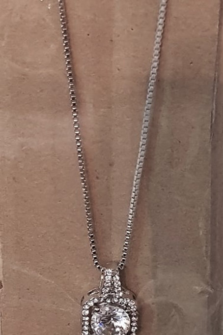 Silver Jewel Necklace 2718272