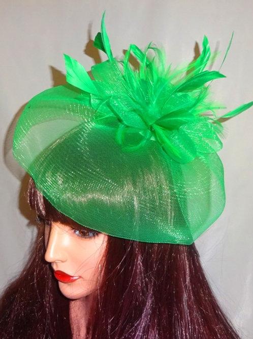 Green Crin Fascinator 736999