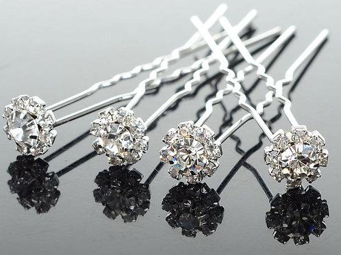Rhinestone Hair Pins x1