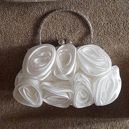 White Rose Bag with handle