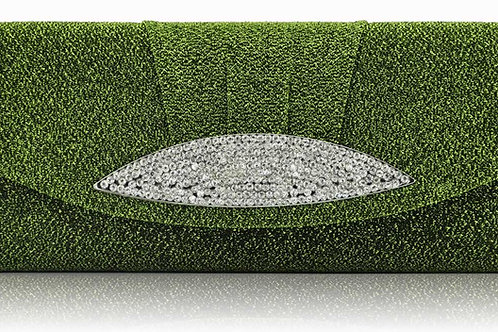 Olive Green sparkly Handbag 2918756