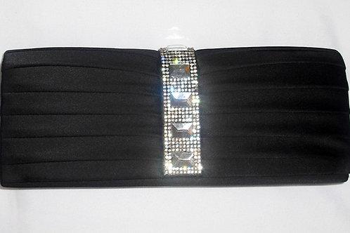 Black Jewel Clutch Bag