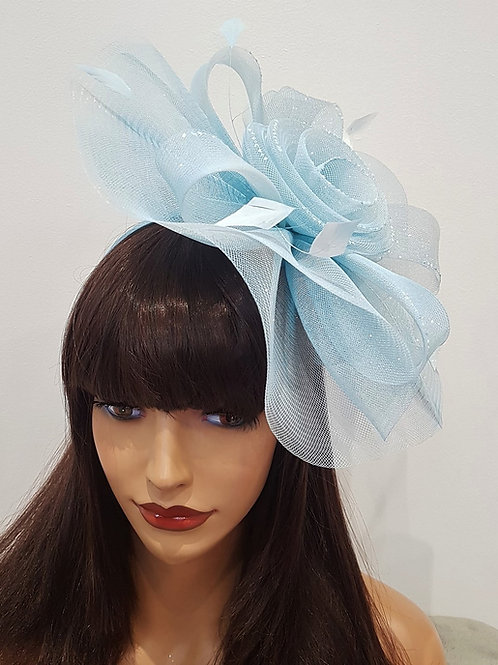 Blue Crin Hatinator Fascinator on band 224466