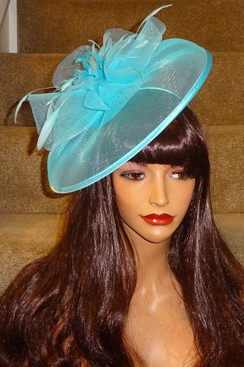 Turquoise Fascinayor Hat on band 565895