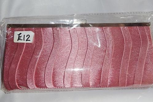 Dusky Pink Clutch Bag