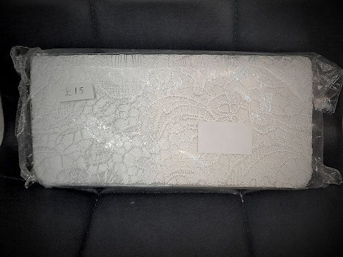 Off White Lace clutch Bag 080621