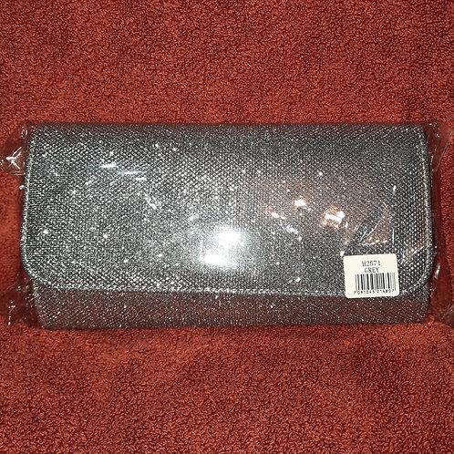 Silver grey metallic sparkly Bag 070621