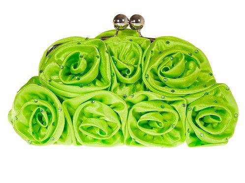 Lime Green Rose Bag 89789