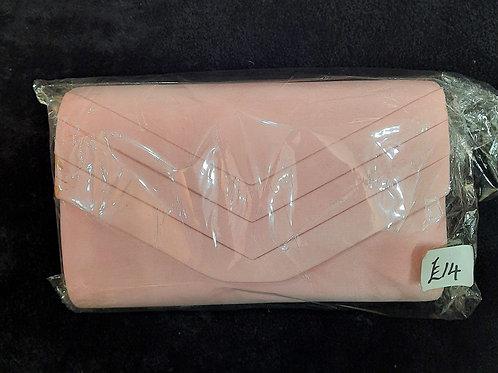 Light Pink suede effect bag 7621533