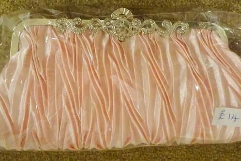 Pale Pink Clutch Bag with strap 758965