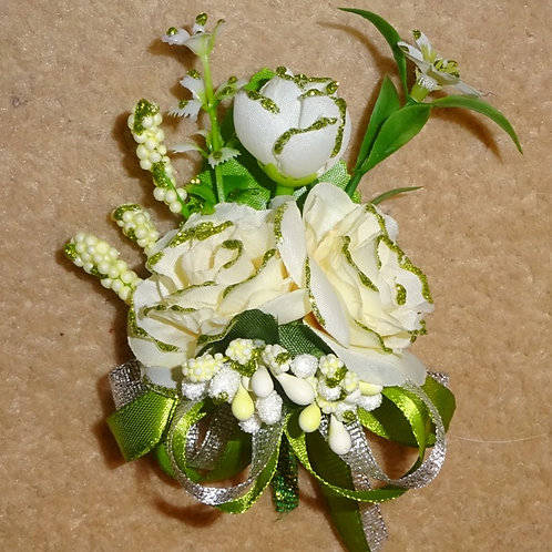 Rose Corsage with Pin