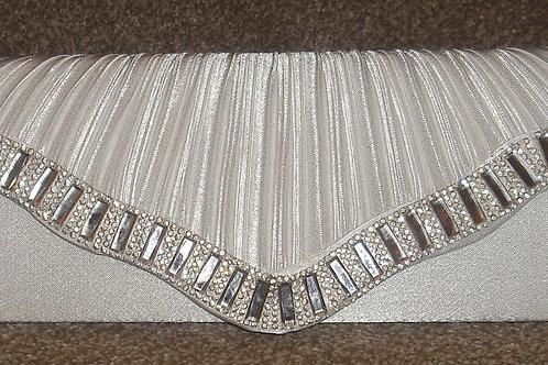 Ivory Bag with Diamante Trim
