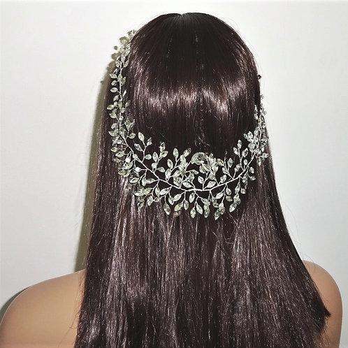 Long Rhinestone Crystal Hair Vine 1988021