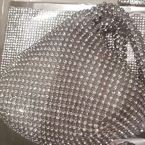 Silver Rhinestone Bag 751579