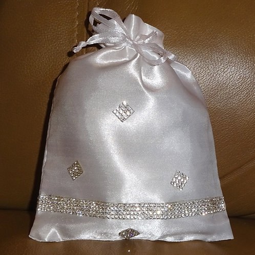 Bridesmaids, Flowergirls or Brides Rhinestone crystal Bag