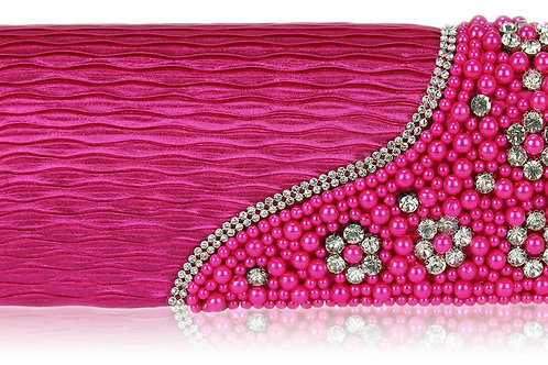 Bubblegum Pink Diamante Bag 376678