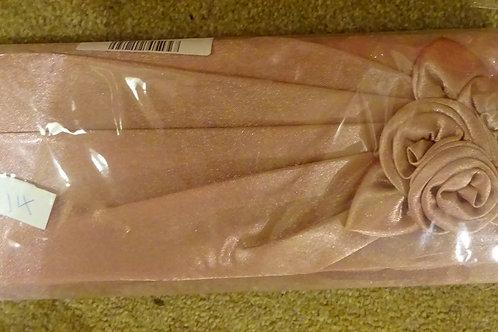 Dusky Pink Rose Clutch Bag with strap 7989658