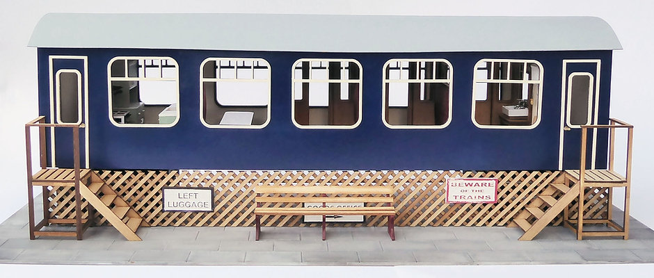 1/48th Scale Camping Coach Kit